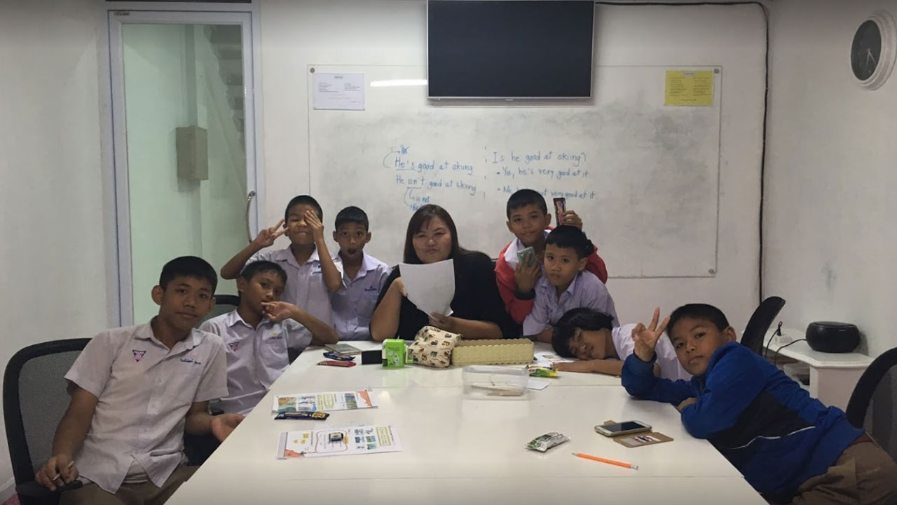 English Design เรียนภาษาอังกฤษโคราช