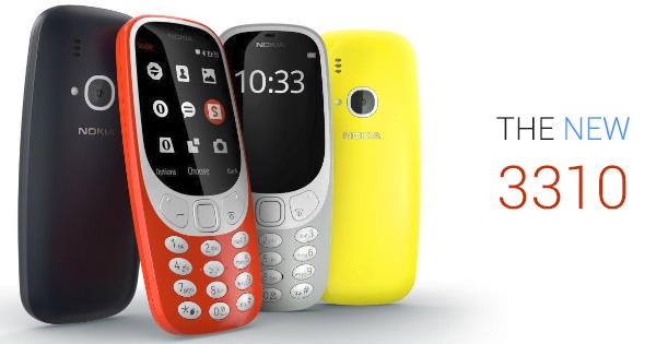 Nokia 3310 รุ่นใหม่ 2017 พร้อมแบตเตอรี่สุดอึด อยู่ได้นาน 25 วัน เตรียมวางจำหน่ายทั่วโลกไตรมาส 2 นี้