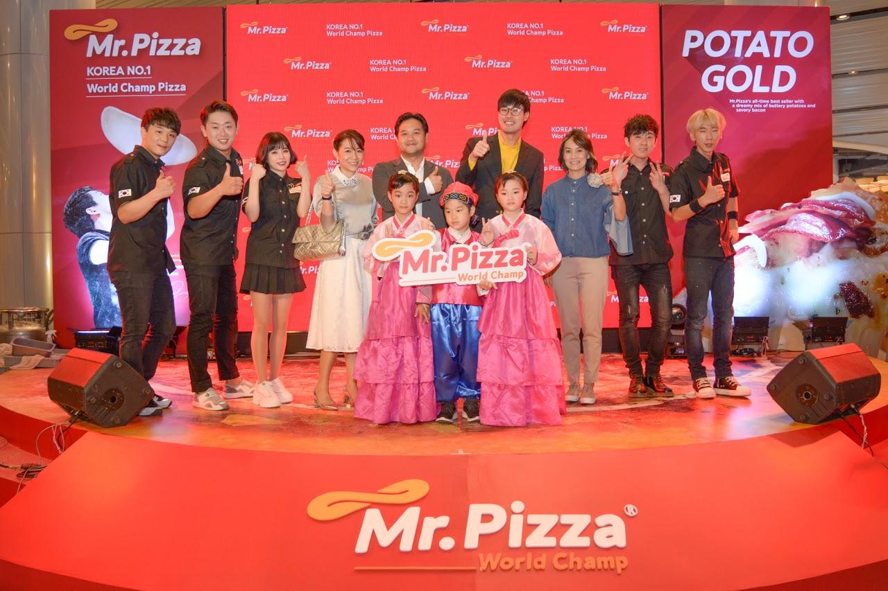 """ฟู้ดแลนด์ฯ ส่ง """"Mr.Pizza"""" เปิดให้ลิ้มลองความอร่อยแล้วที่เทอร์มินอล 21 โคราช"""